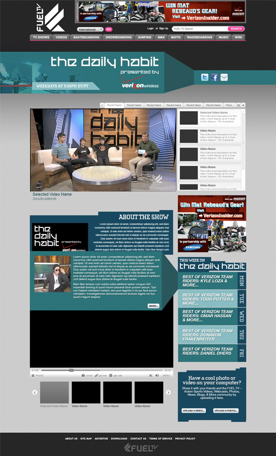 The Daily Habit Show Screenshot