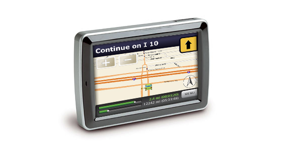 GPS Software Interface Design